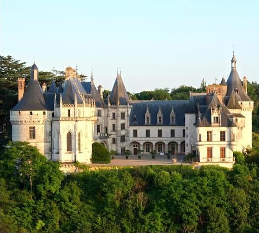 Châteaux de la Loire en ULM